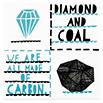 We are all made of diamond and coal